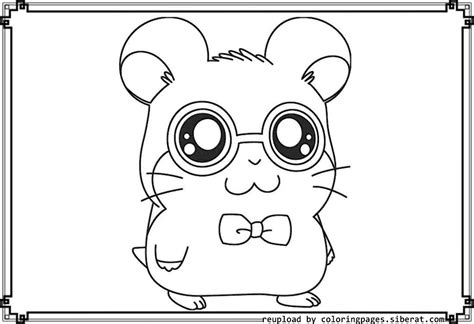 baby hamster coloring pages baby hamster coloring page
