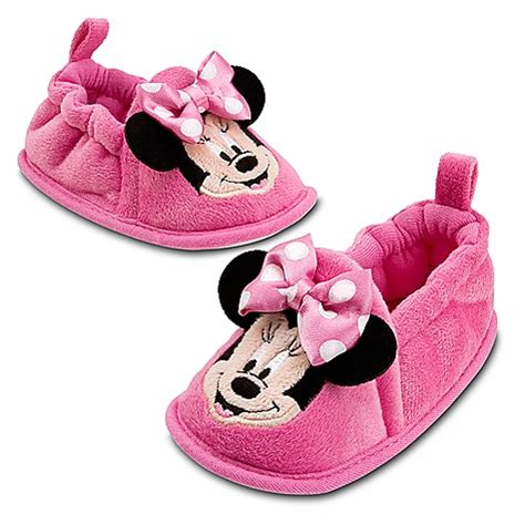 minnie mouse shoe slippers minnie mouse slippers soft shoes pink infant 0 24m