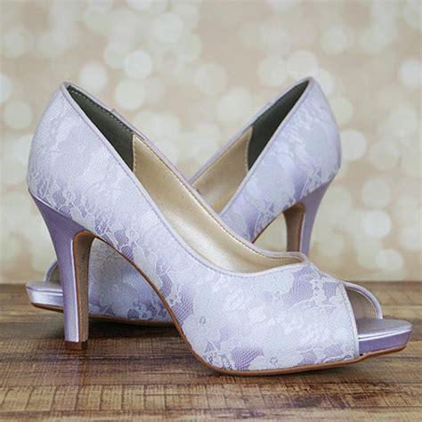 lilac shoes for wedding custom wedding shoes lilac platform peep toe wedding shoes