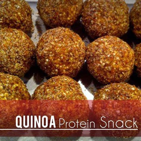 quinoa protein snack recipe energy balls agaves and