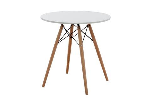 eames table replica 70cm white