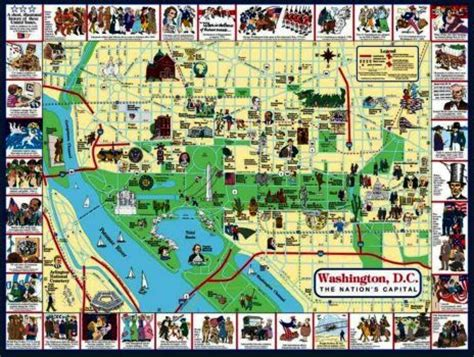 washington dc tourist map pdf washington dc visitor map my