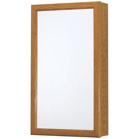 glacier bay cabinet doors glacier bay 15 1 4 in w x 26 in h framed surface mount