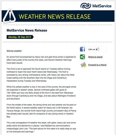 Thank You 187 About Metservice Email Broadcast Template