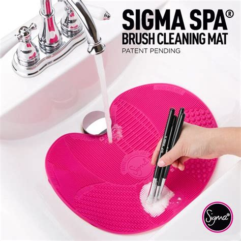 Patent Pending By Sigma Brus Set Kuas Make Up sigma spa 174 brush cleaning mat hq hair