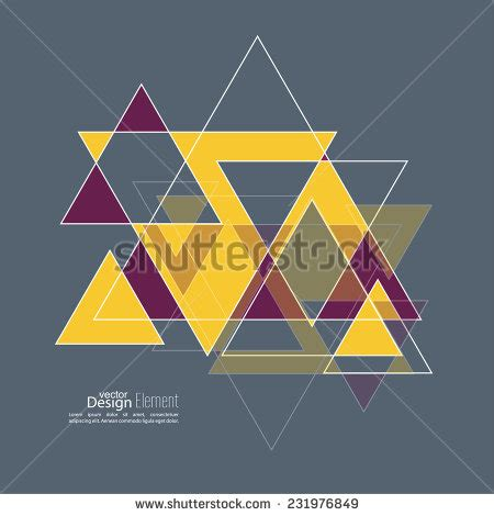 triangle pattern problem abstract background with hipster triangles triangle
