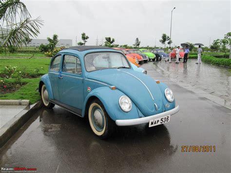 volkswagen pune beetle club drive to volkswagen plant pune team bhp