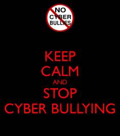 Childrens Wall Stickers Uk keep calm and stop cyber bullying keep calm and carry on