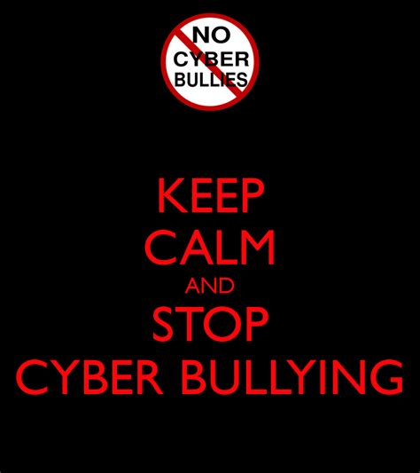 Cloud Wall Stickers keep calm and stop cyber bullying keep calm and carry on