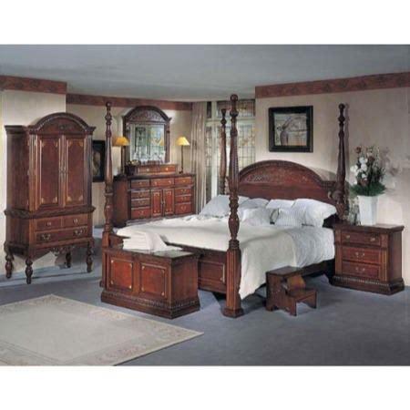 orleans bedroom furniture orleans cherry 4 poster bedroom set furniture123