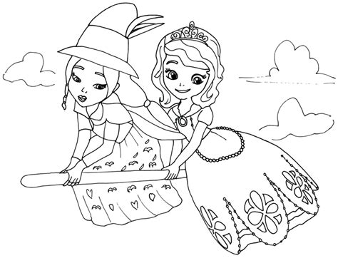 clover coloring page free sofia the first coloring pages coloring pages photo the sofia first coloring pages