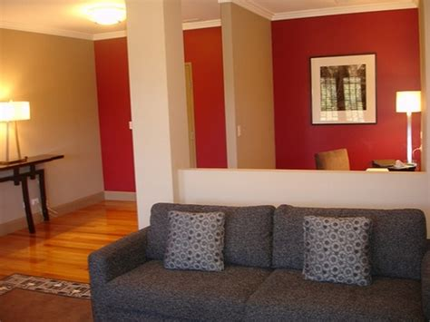 painting and decorating tips paint color ideas for small living room with lovely red