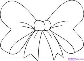 minnie mouse bow outline cliparts co