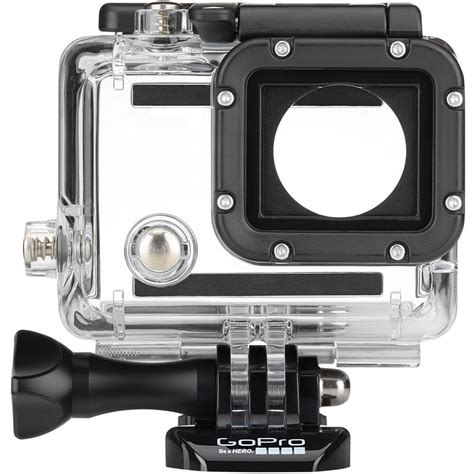 dive housing gopro gopro dive housing for hero3 hero3 and hero4 ahdeh 301 b h