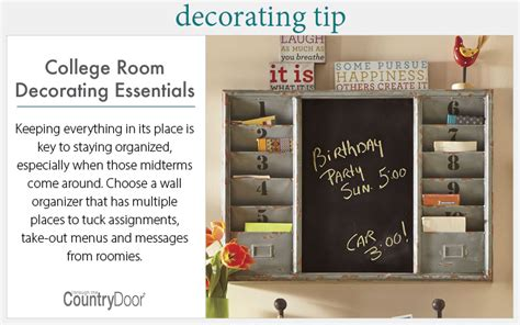 home decorating tips back to college d 233 cor