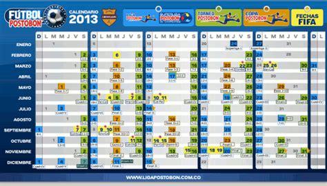 Calendario Futbol Colombiano Calendario De La Liga Postob 243 N 2013 La Copa Postob 243 N Y