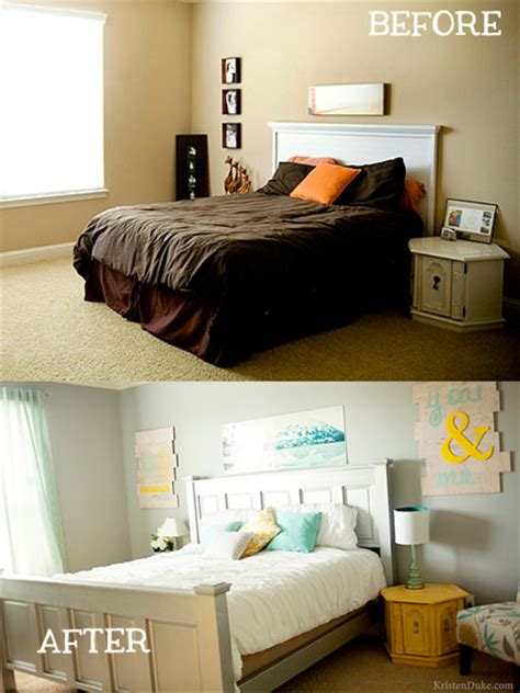 before and after bedroom makeover pictures small bedroom makeovers decorating your small space