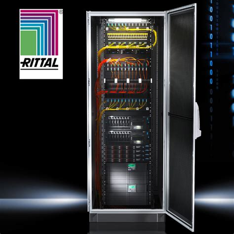 Panel Rittal rittal ts it 19 server rack edp europe