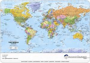 Global World Map by Promotional World Map Deskmat Global Mapping Map Stop