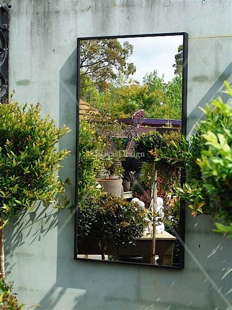 Contemporary Outdoor Mirror Std Outdoor Mirrors Outdoor Garden Wall Mirrors
