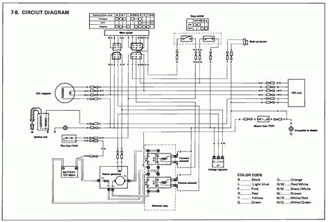 yamaha kodiak 400 wiring diagram wiring diagram manual