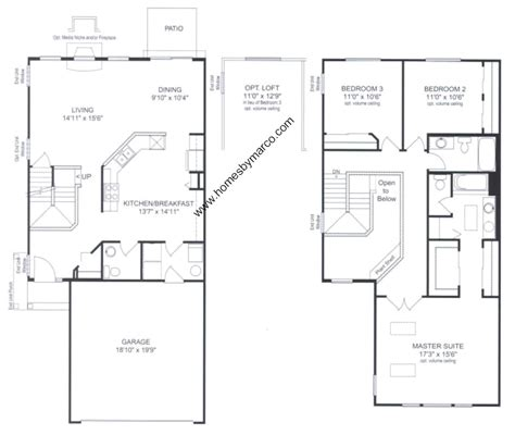 stratford homes floor plans stratford model in the princeton crossing subdivision in