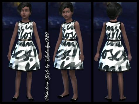 design clothes sims 4 sims 4 designer clothes for little girls
