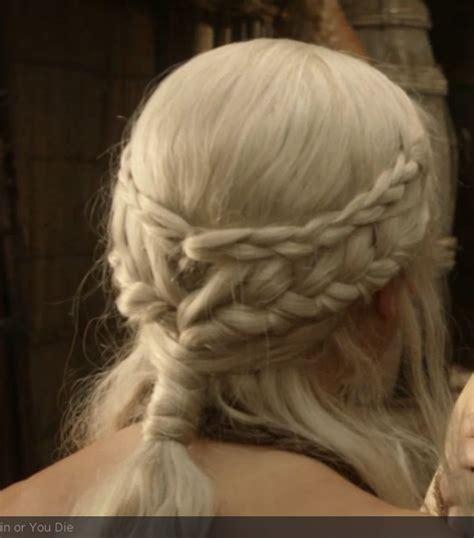 hairstyles khaleesi khaleesi daenerys targaryen got hair we go