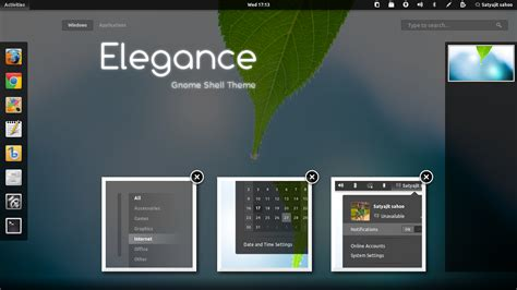 gnome themes repository gnome shell gtk系列主题satya ppa源安装 我是菜鸟