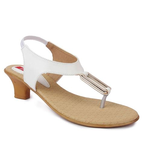 white slip on sandals finesse white flat slip on sandals price in india buy