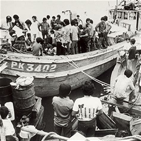 refugee boat names vietnamese refugees boat arrival national museum of