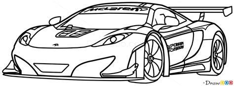 mclaren logo drawing how to draw mclaren mp4 12c white supercars how to draw