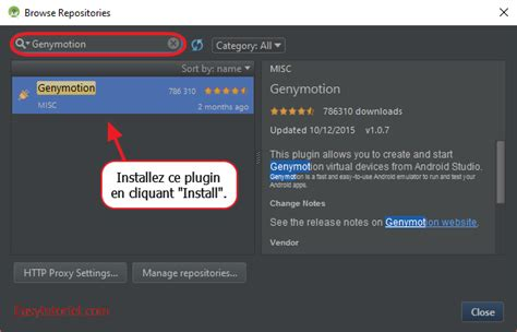 genymotion android studio genymotion l 233 mulateur android le plus rapide au monde easytutoriel