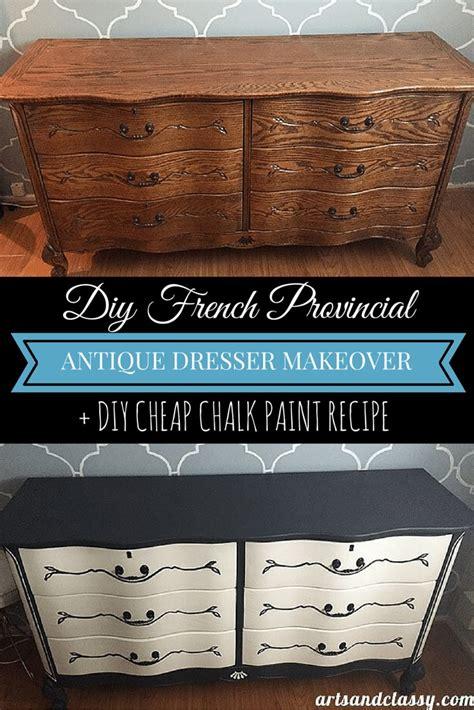 diy chalk paint australia vintage bedroom dressers american oak highboy morris