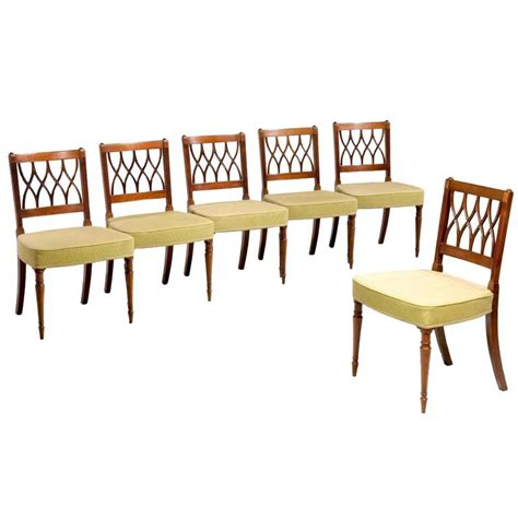 Period Dining Chairs Set Of Six George Iii Period Dining Chairs For Sale At 1stdibs