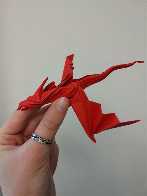Origami Drago - origami snake by nixgaunt on deviantart