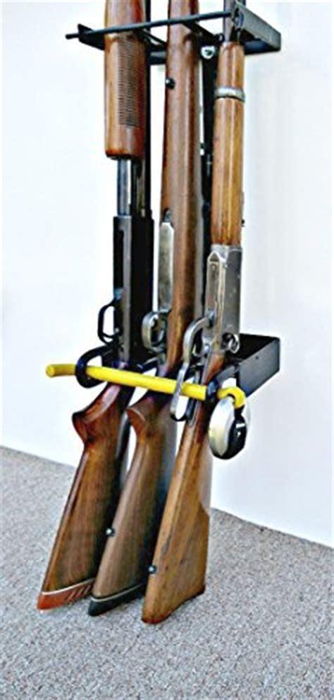 Locking Rifle Rack by 3 Gun Locking Wall Gun Rack For Vertical Wall Mount Made Of Metal