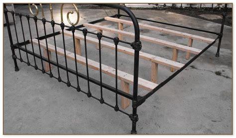 metal bed frame no box metal bed frame no box