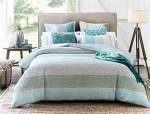 Blue Queen Duvet Brennan Quilt Cover Bed Bath N Table