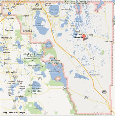 Osceola County Florida Records Osceola County Map My