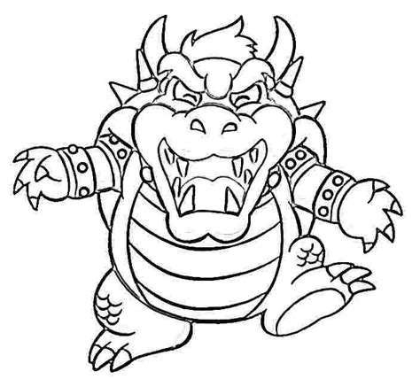 mario coloring pages bowser jr bowser coloring pages