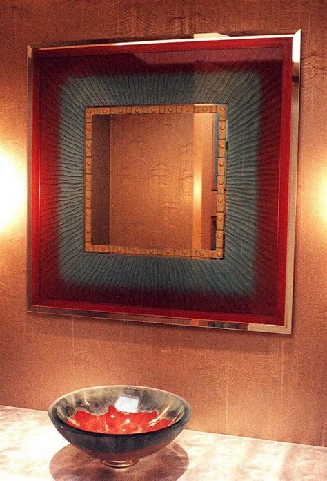 Etched Bathroom Mirrors Etched Glass Mirrors Sans Soucie Glass