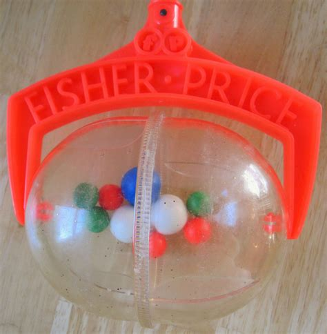 Fisher Price Rattle Stick 682 rattle