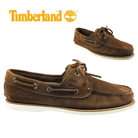 timberland classic boat shoes brown fulham hammersmith