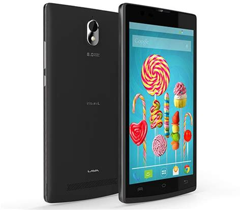 Lava L L by Lava Iris Alfa L Launched With Android Lollipop In India