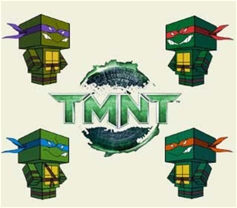 Mutant Turtles Papercraft - mutant turtles papercraft paperkraft net