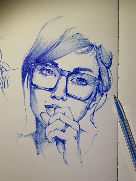 ballpoint  drawing ideas  pinterest