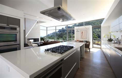 Modern American Kitchen Design Sausalito Residence Behr Design And Ewald Tajbaksh Architecture Modern Kitchen Other