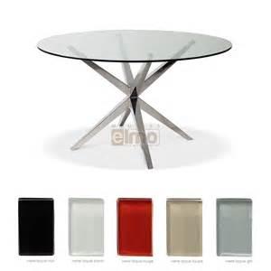 table de salle 224 manger acier inox poli verre tremp 233 ariane