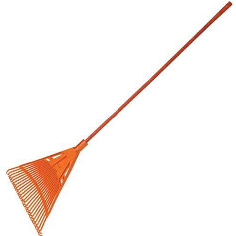 rake head leonard poly lawn rake 30in with composite handle
